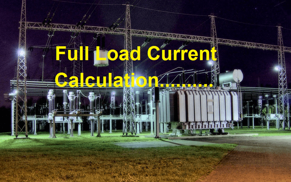 Full load current calculation