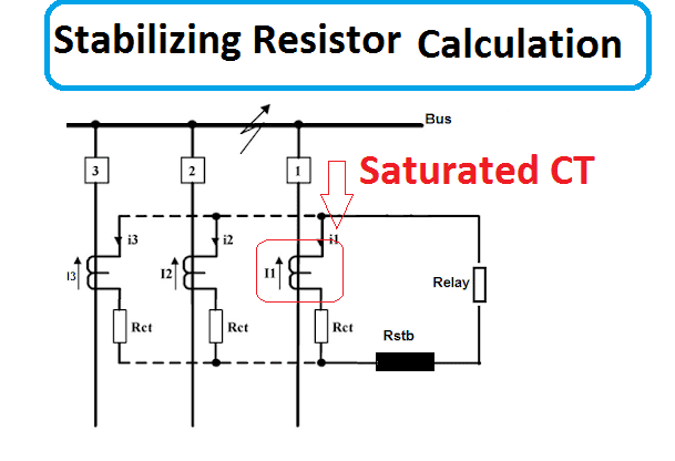How to Calculate stabilizing Resistor for differential Protection differential Protection