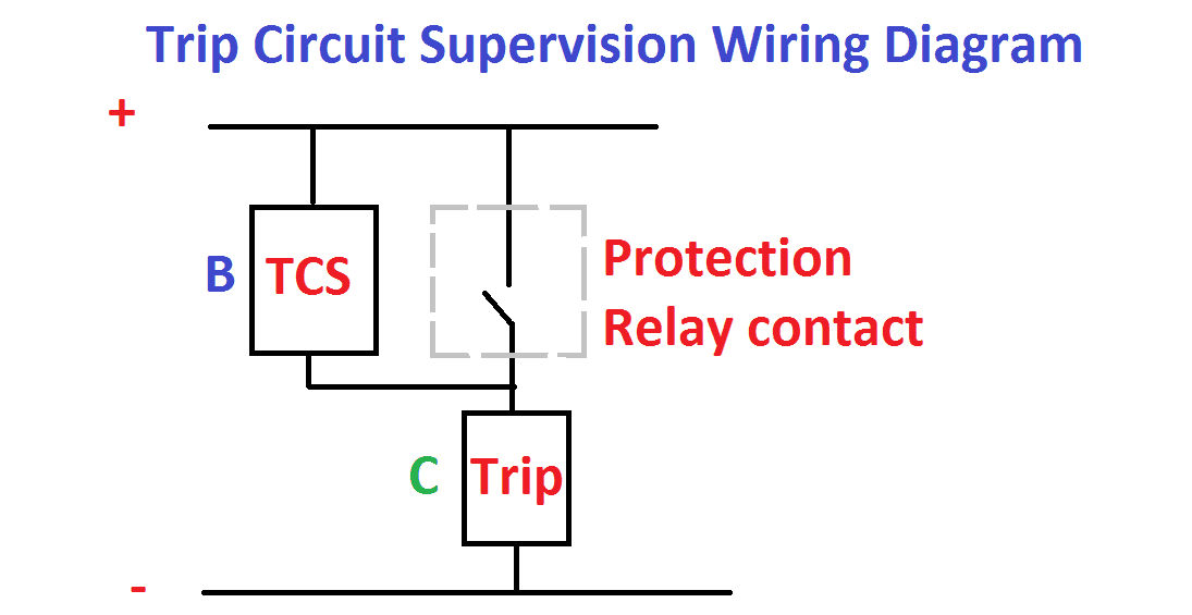 TCS relay Circuit Digram