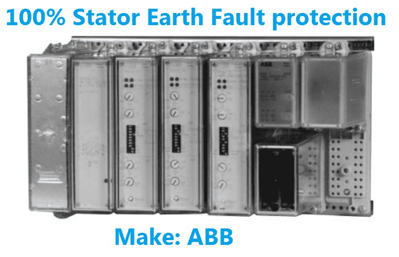 stator earth fault relay
