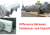 Difference between Capacitor and condenser:
