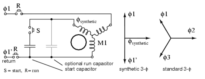 How to Run Three Phase Motor on Single Phase Power Supply