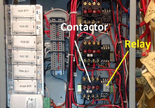 Difference Between Contactor And Relay