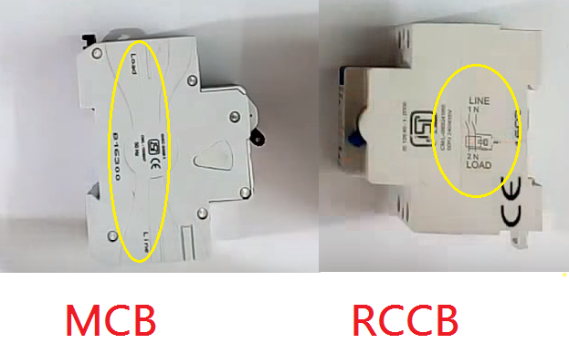 Difference Between MCB and RCCB 1