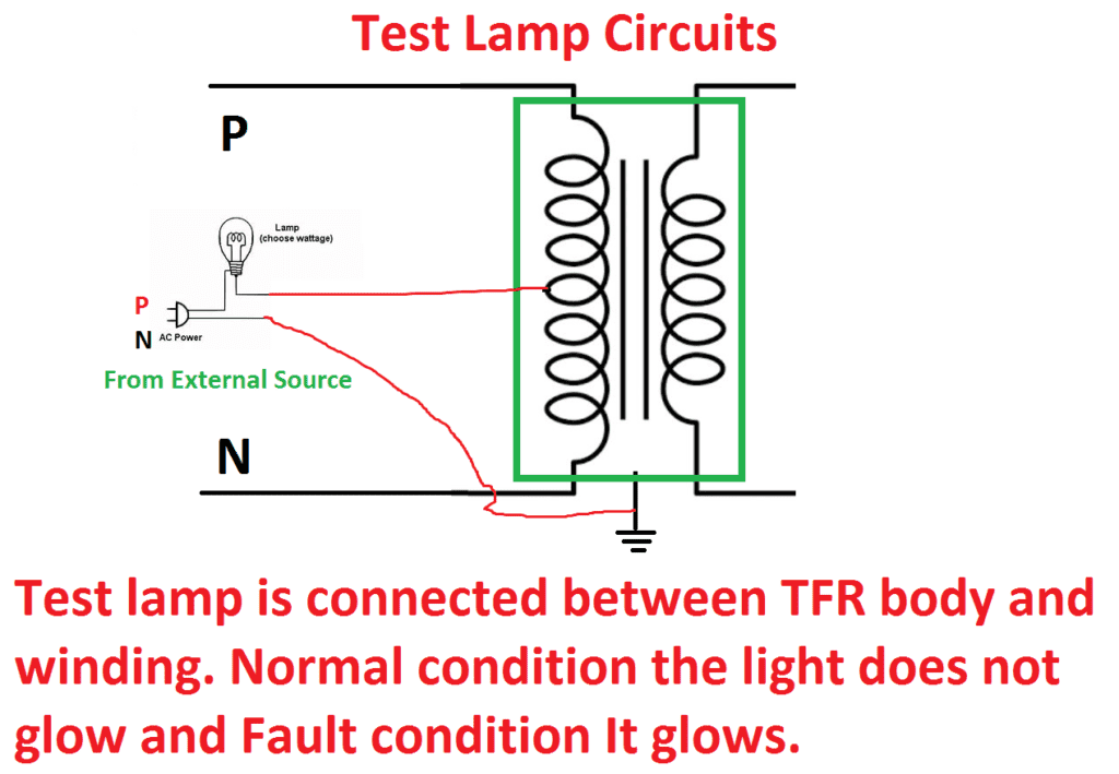 Test Lamp Circuits