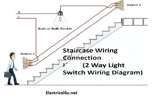 2 way switch connection  3 type of two way switch circuit