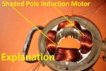 Shaded Pole Induction Motor, Working, Advantages, Power Rating