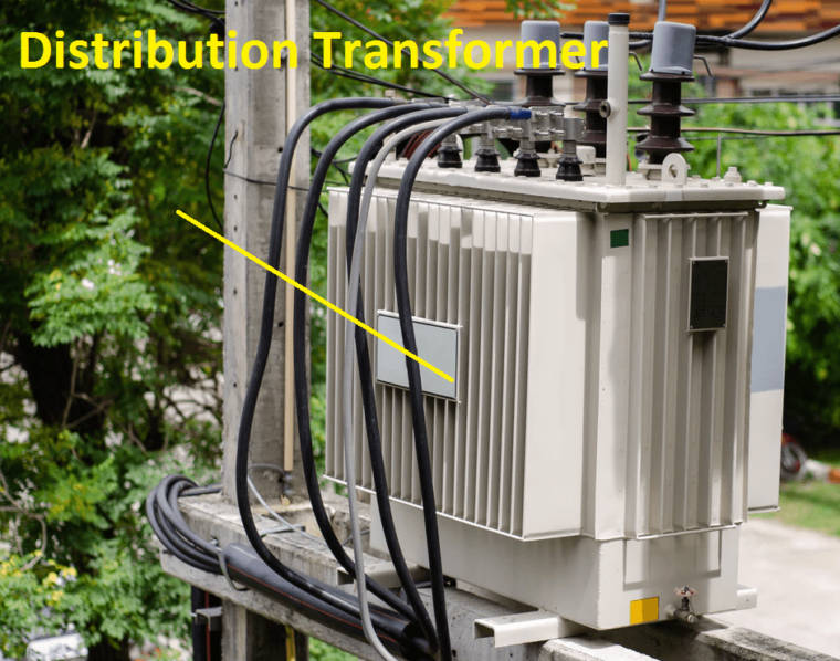 Distribution transformer Image