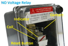 No voltage relay