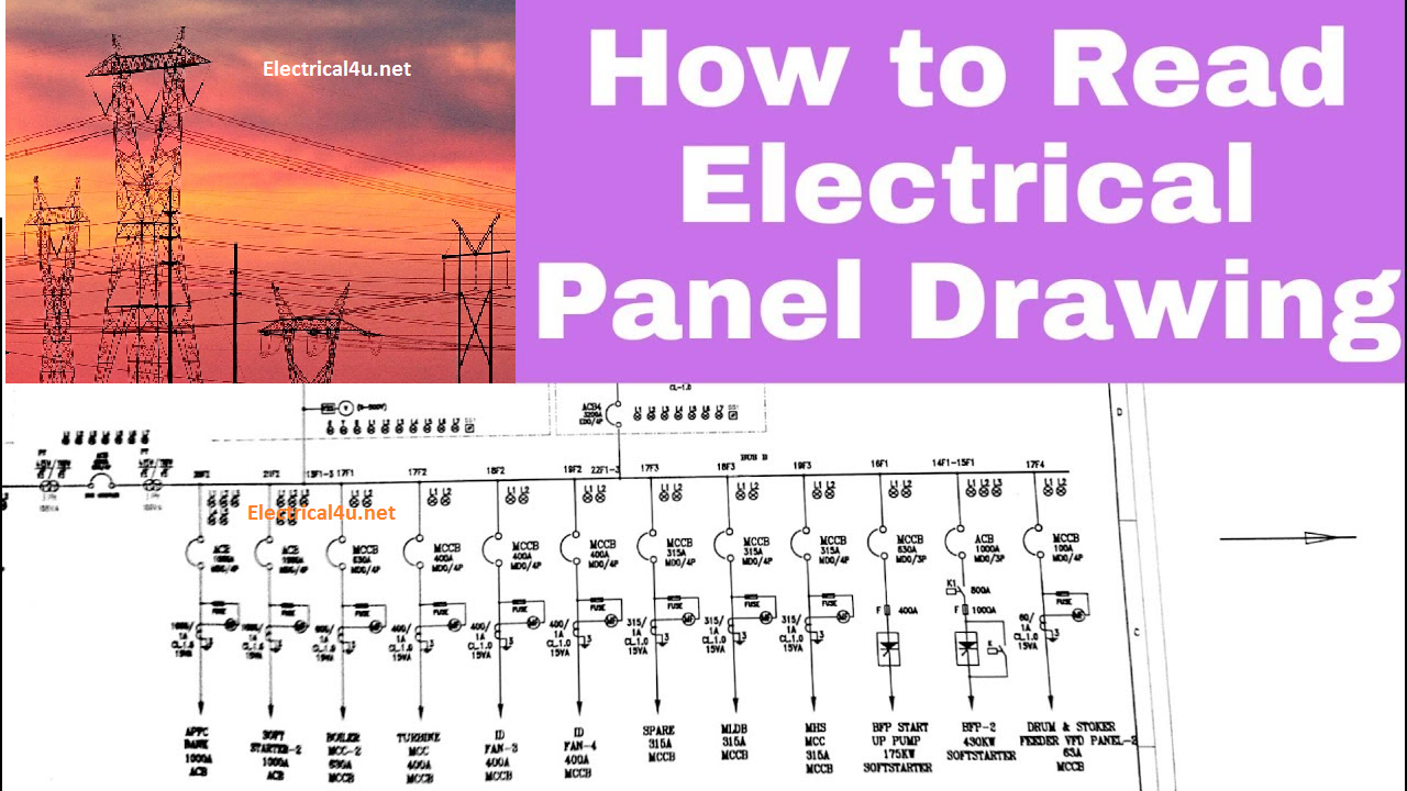 How To Read The Electrical Wiring Diagram