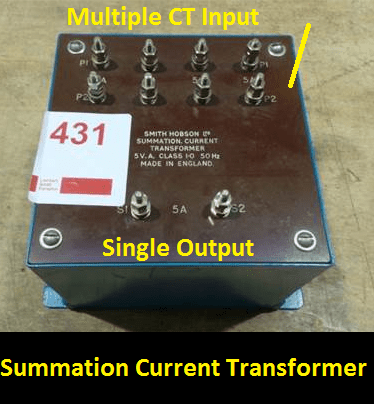 Summation transformer