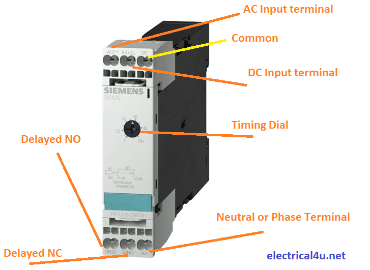 View Star Delta Timer Wiring Diagram Images