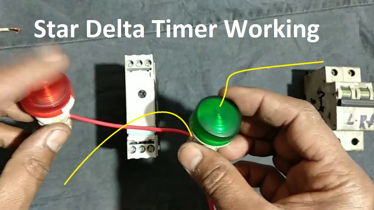 What is Star Delta Timer, Circuit Diagram, Working Siemens ...