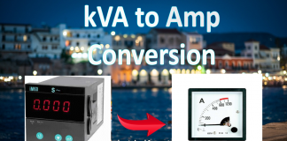 kVA to Amp Conversion Calculator A to kVA Online