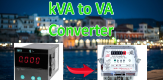 kVA to VA Conversion Calculator Online