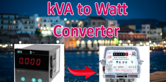 kVA to Watt Conversion Calculator (kVA to W)