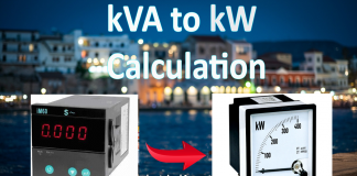 kVA to kW Conversion Calculator