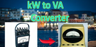 kW to VA calculator