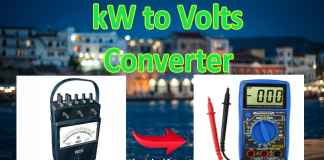 kW to Volts Conversion