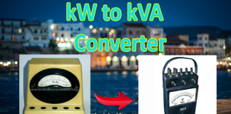 kW to kVA calculator