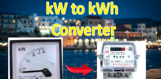 kW to kWh Converter Online