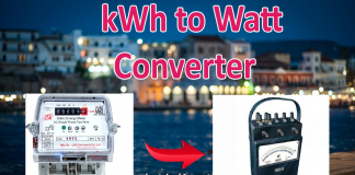 kWh to W Conversion Calculator Energy to Power Calculations