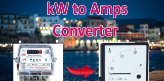 kw to A converter