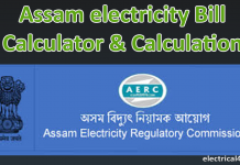 Assam electricity Bill Calculator