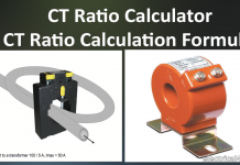 CT Ratio Calculation and Calculator Online