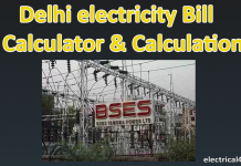 Delhi Electricity Bill Calculator