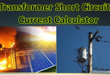 Transformer Fault Current Calculator With Calculation Formula