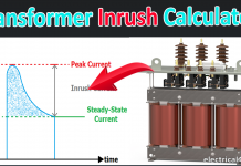 Transformer Inrush Current Calculator With Formula