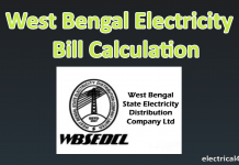 West bengal electricity Calculator