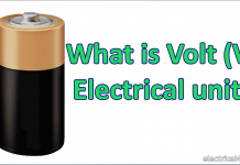 What is Volt (V) electrical unit