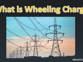 Wheeling charges