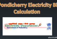 pondicherry electricity bill calculator