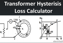 transformer hysteresis current calculator