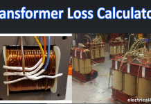 transformer loss calculator