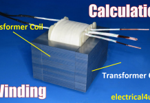 transformer wire size Chart