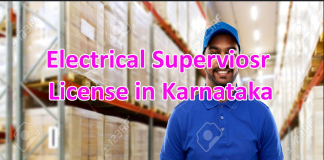 Electrical Supervisor License in Karnataka