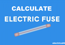 Fuse Sizing Formula For Motor, Transformer, & Capacitor