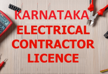 KARNATAKA Electrical License