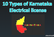 Types of Karnataka license in electrical