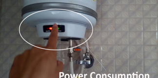 Geyser power consumption