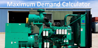 Maximum Demand Calculator