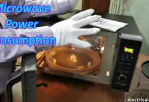 Microwave Power Consumption Calculation