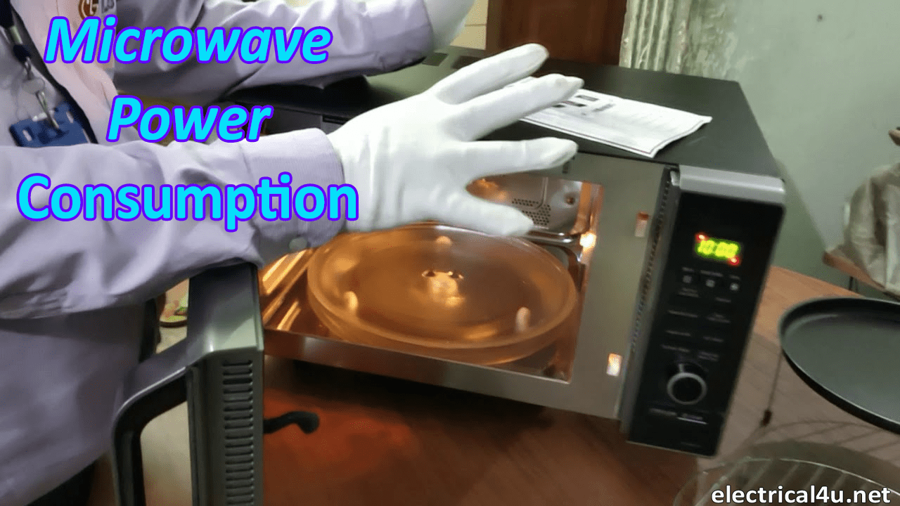 Microwave Oven Consumption