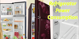 Refrigerator Power consumption-min