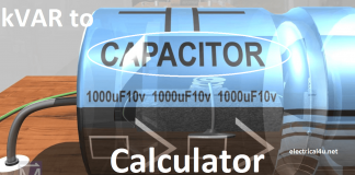 kVAR to Farad Calculator