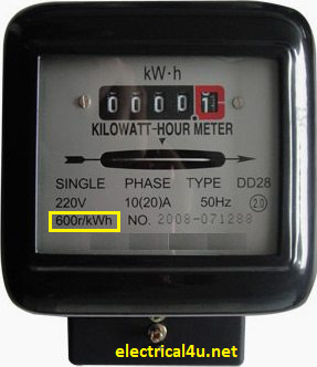 conventional energy meter